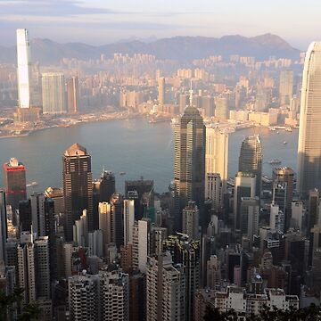 Hong Kong from the Peak by Scully