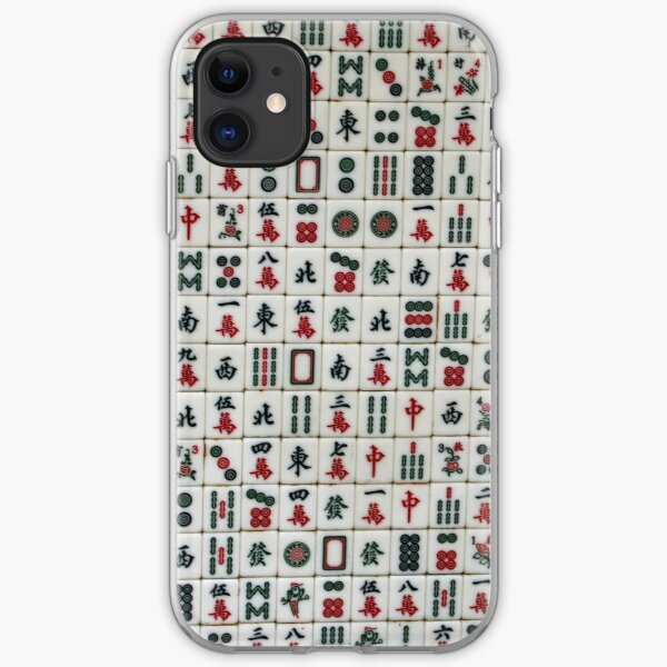 Mahjong Wall iPhone Soft Case