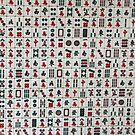 Mahjong Wall by Gillian Anderson LAPS, AFIAP