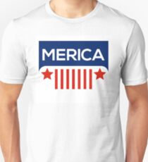 Jeep Wrangler- Merica Color Unisex T-Shirt