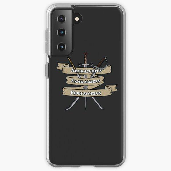 Nerdy Tee - Knights of the Cross Samsung Galaxy Soft Case