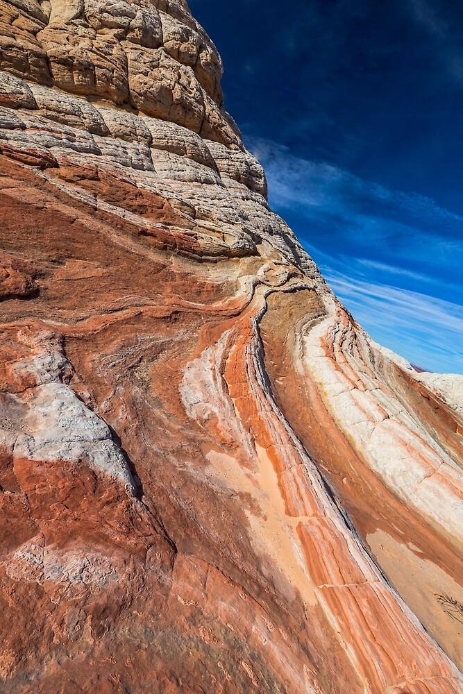 Waves and Stripes, White Pocket by photosbyflood