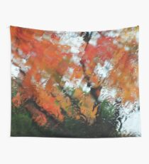 Fall in the mountains Wall Tapestry