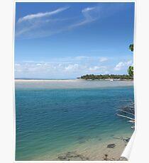 Noosa river enters the Laguna bay over a dangerous sand bar Poster