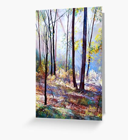 'Wickham Mist 1' Greeting Card