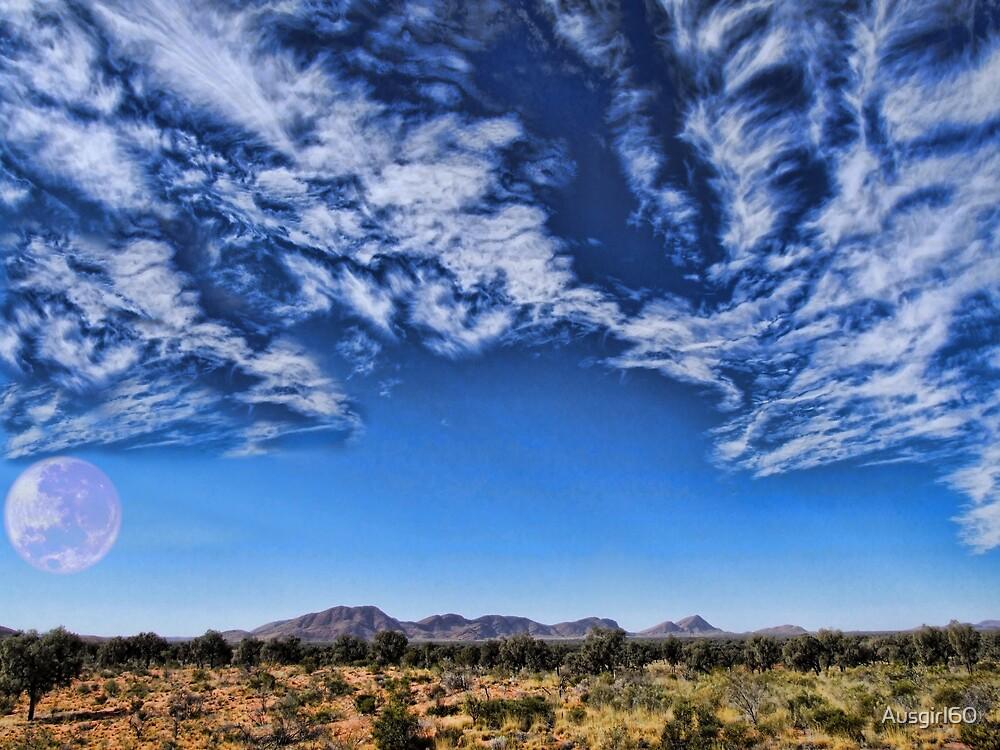 Mountain Range near Uluru by Ausgirl60