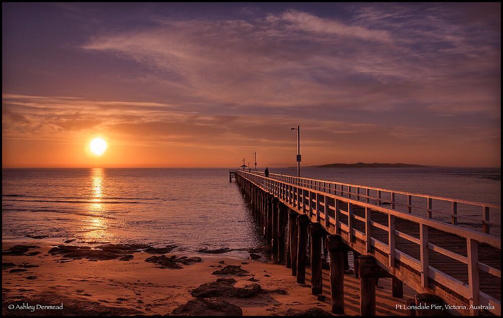 Pt Lonsdale Pier  by Ashley Denmead