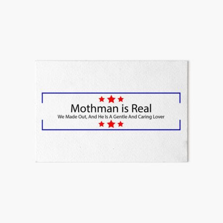 Mothman est réel Impression rigide