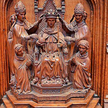 Coronation in wood by kllebou