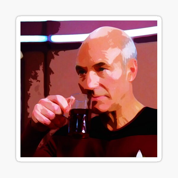 Picard Earl Grey Sticker