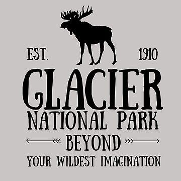 Moose Glacier National Park Montana by YuliyaR
