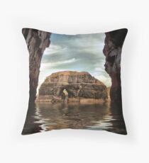 The Virgin Rock Throw Pillow