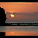 Balangan Sunset by davenreef