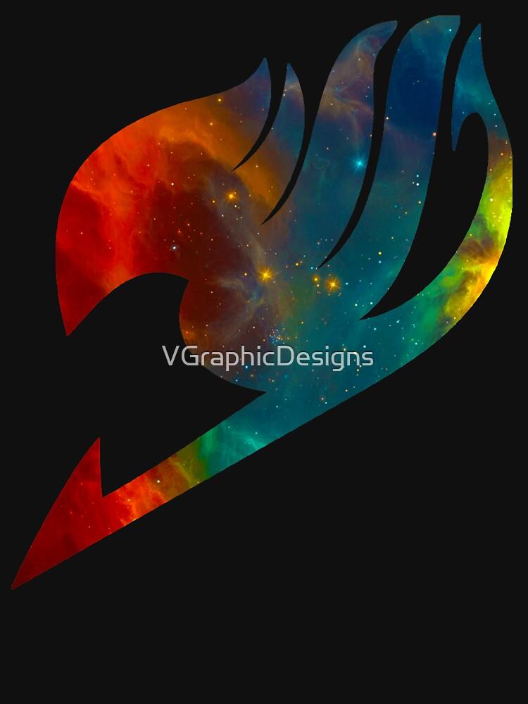 Fairy Tail Galaxy Universe Guild Symbol Multicolored by VGraphicDesigns