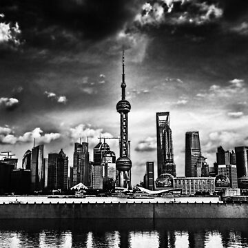 Pu Dong: Shanghai New Area by Alphafish