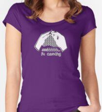 Shhh... I'm Counting Women's Fitted Scoop T-Shirt