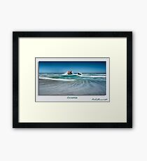 Oceania - signed Framed Print