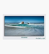 Oceania - signed Photographic Print