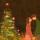 Christmas kissing by puuung1