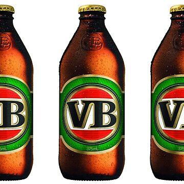 Victorian Bitter - VB - Aussie Beer by Connorlikepie