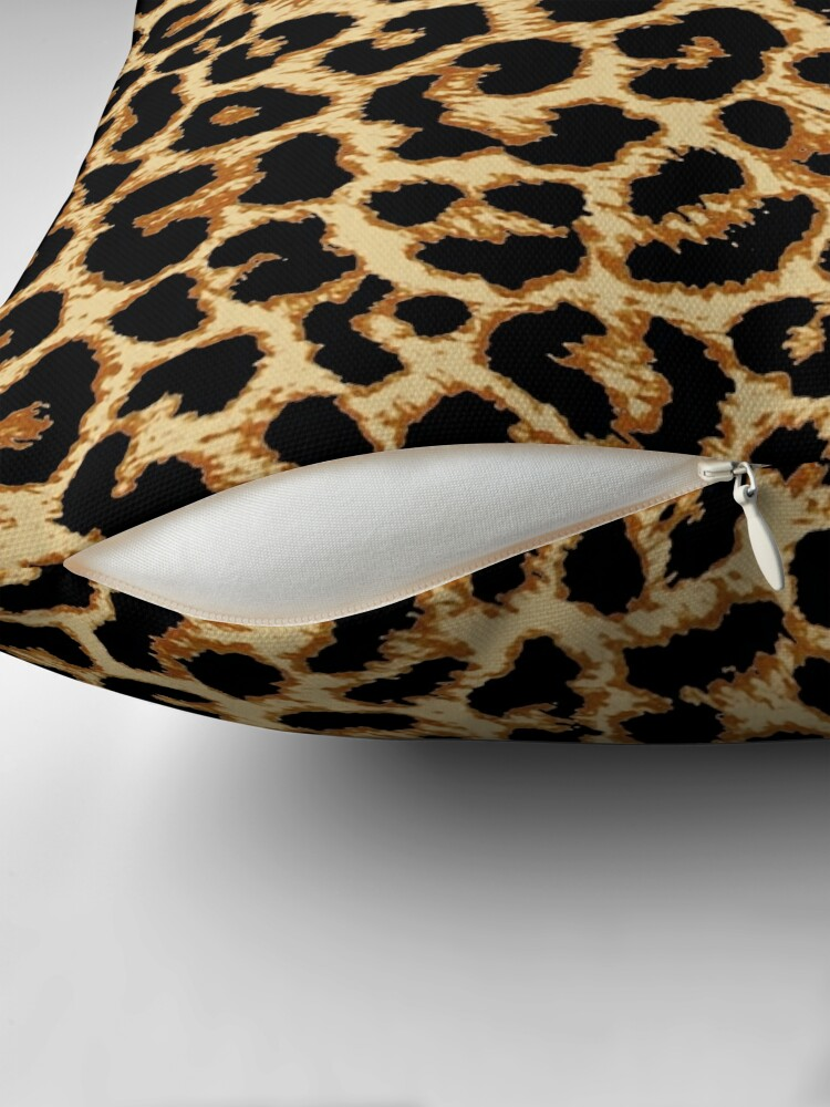 Alternate view of ReAL LeOparD Throw Pillow