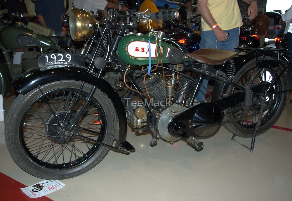 1929 BSA 770 Colonial by TeeMack