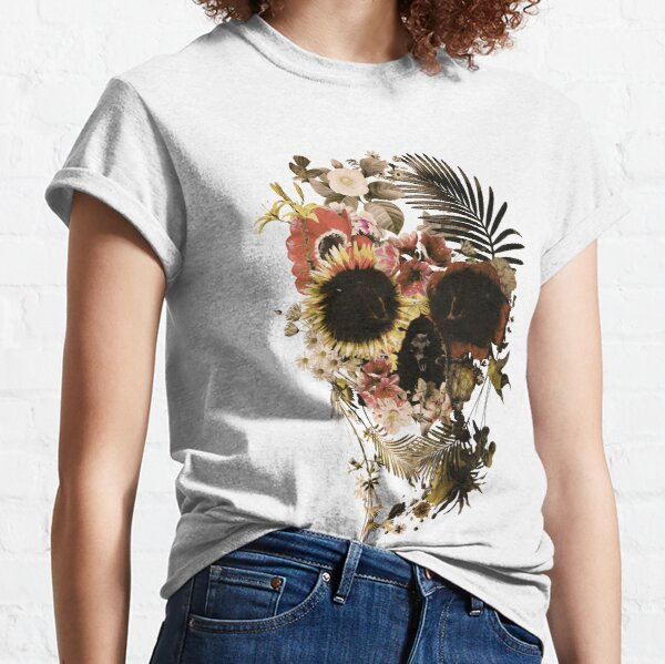 Garden Skull Light Classic T-Shirt