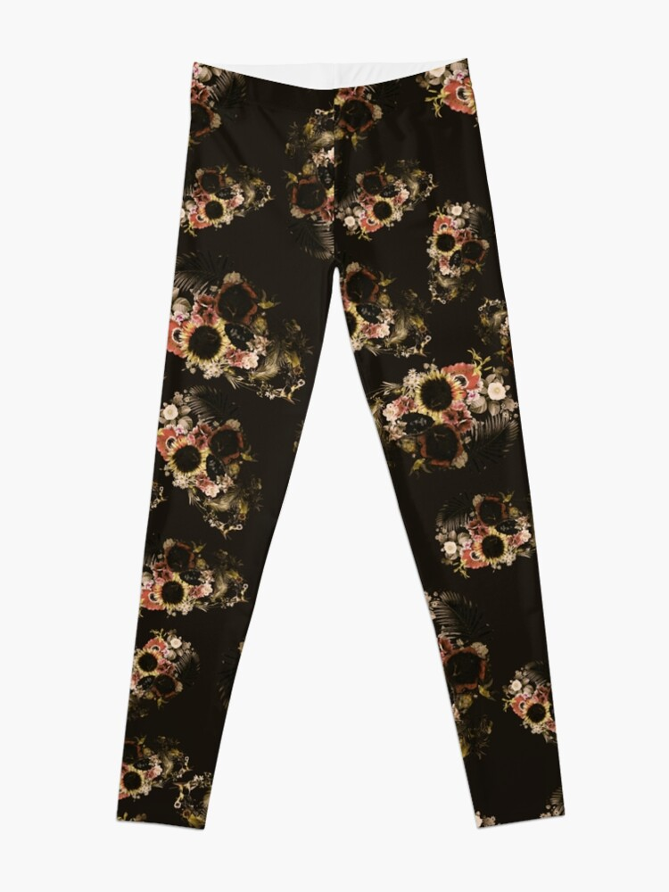 Alternate view of Garden Skull Light Leggings