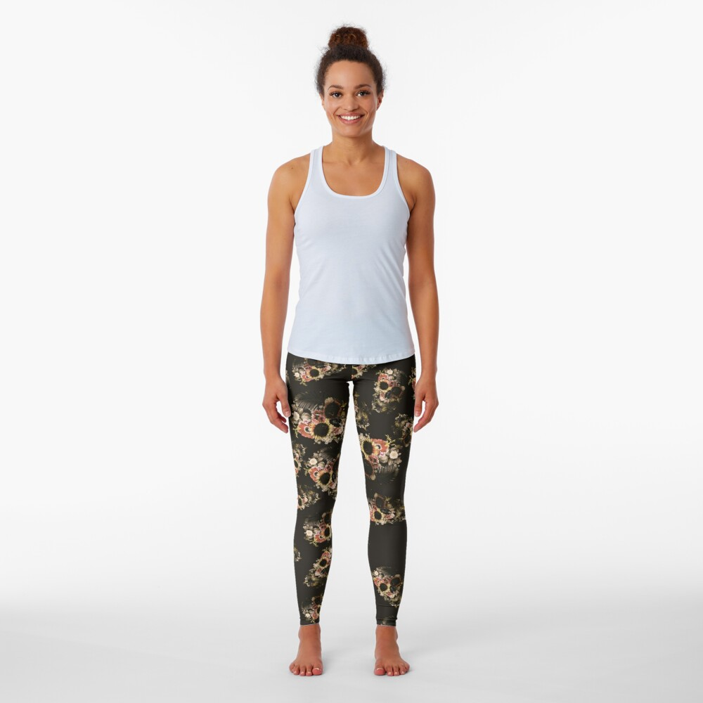 Garden Skull Light Leggings