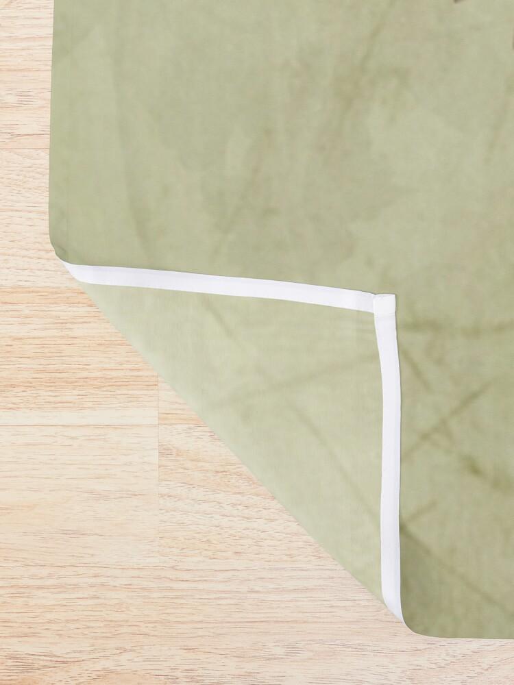Alternate view of Garden Skull Light Shower Curtain