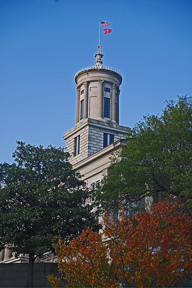 State Capitol, Nashville Tennessee by Bryan D. Spellman