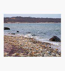 Winter Beach Photographic Print