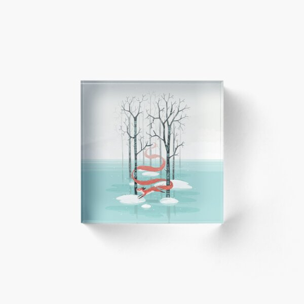 Forest Spirit Acrylic Block