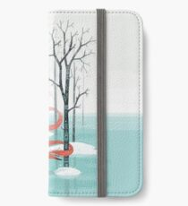 Waldgeist iPhone Flip-Case/Hülle/Skin