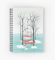 Forest Spirit Spiral Notebook
