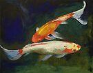 Feng Shui Koi Fish by Michael Creese