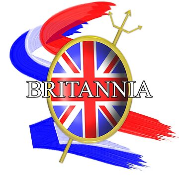 Rule Britannia Union Jack British Themed Graphic by Artification