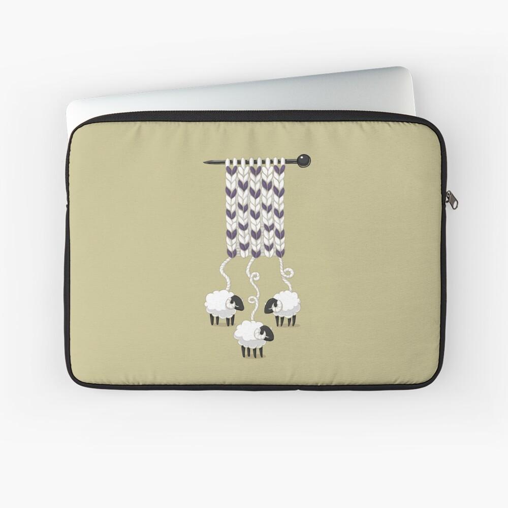Wollschal Laptoptasche