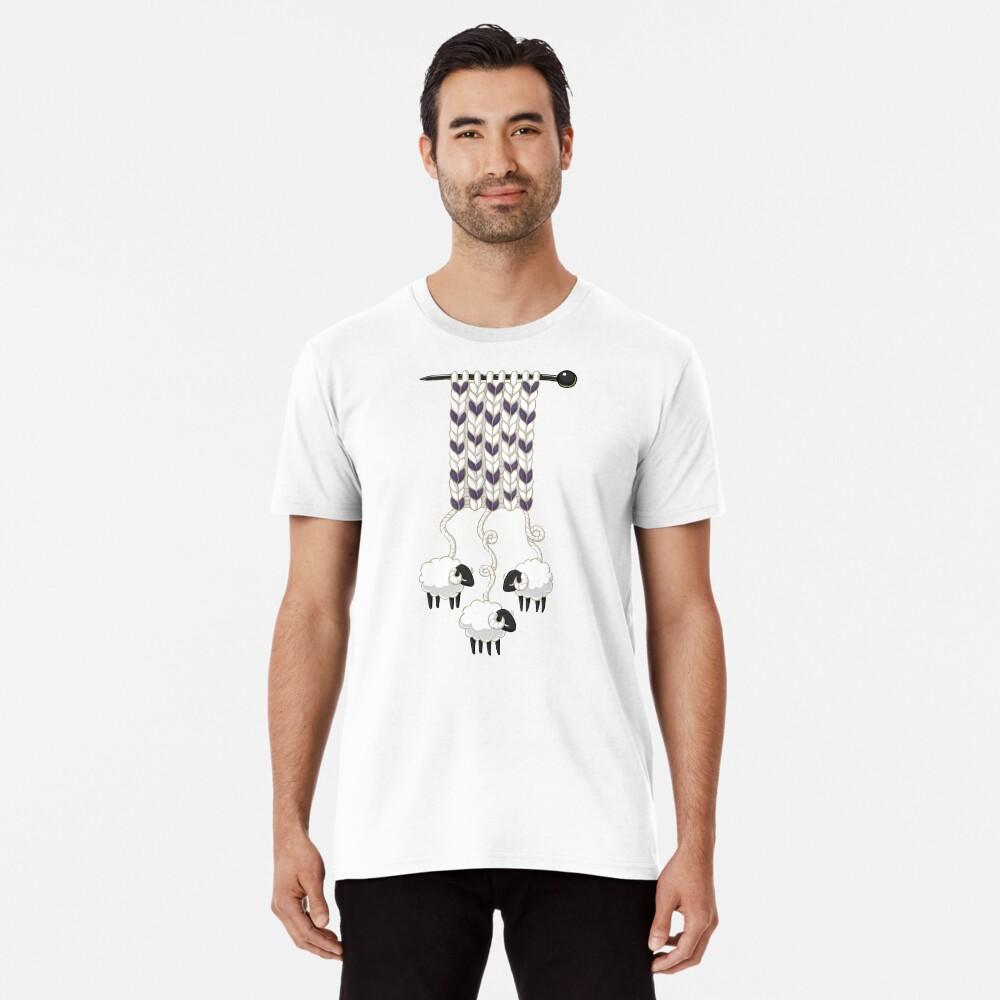 Wollschal Premium T-Shirt