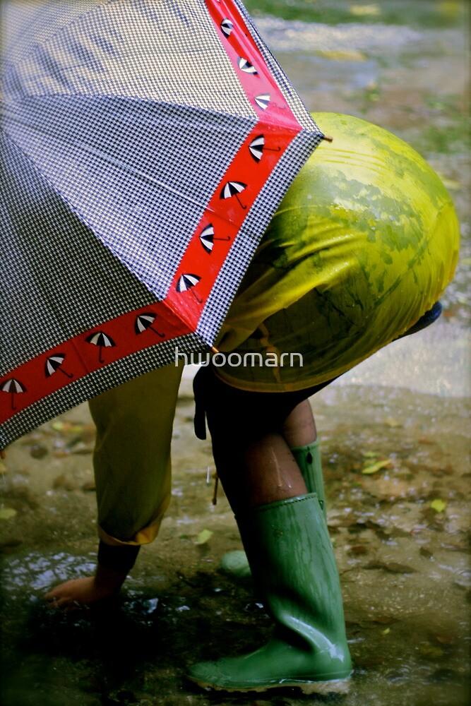 Rain dance by hwoomarn