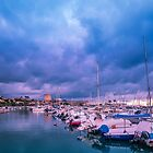 Weather to stay in the Marina by Ralph Goldsmith