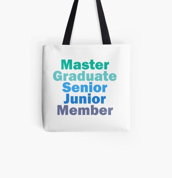 TDA Artist Ranks All Over Print Tote Bag