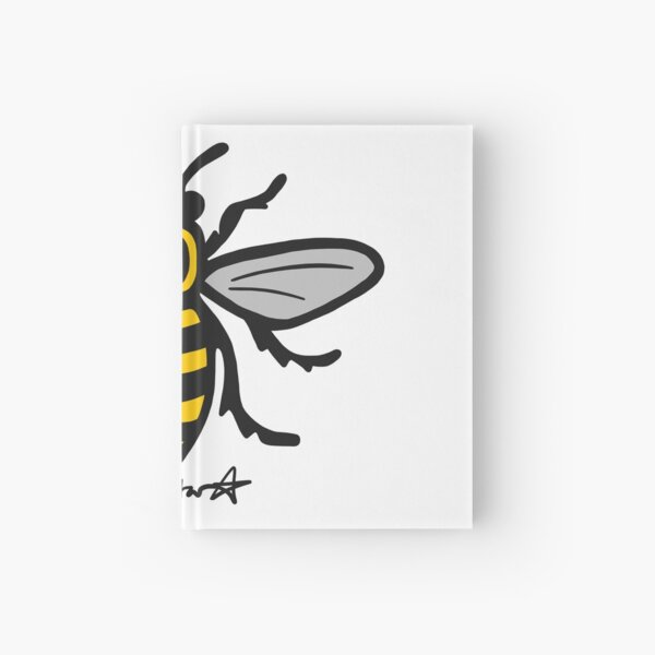 Manchester Bee Hardcover Journal