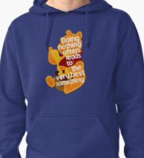 Doing nothing bear Pullover Hoodie