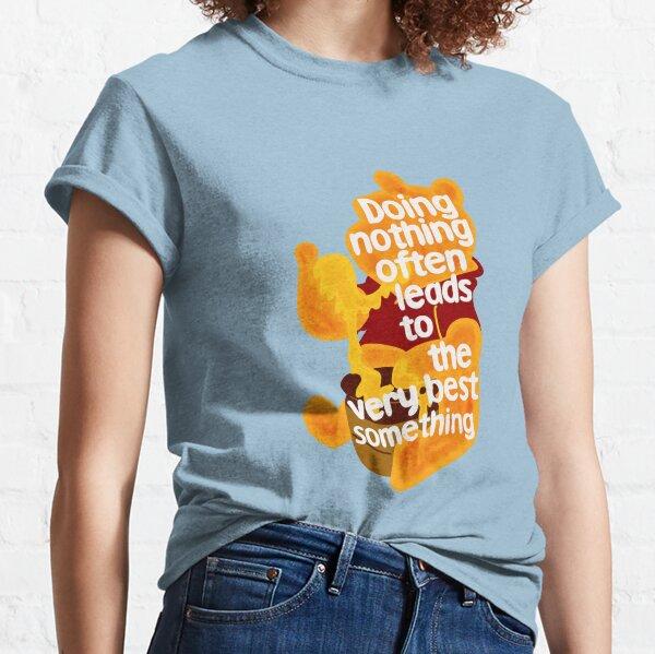 Haciendo nada oso Camiseta clásica