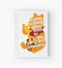 Doing nothing bear Hardcover Journal