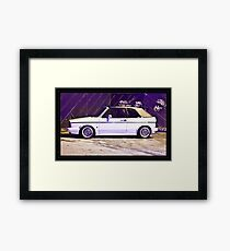 VW MK1 Golf GTi Framed Print