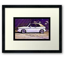 VW MK1 Golf GTi Framed Print