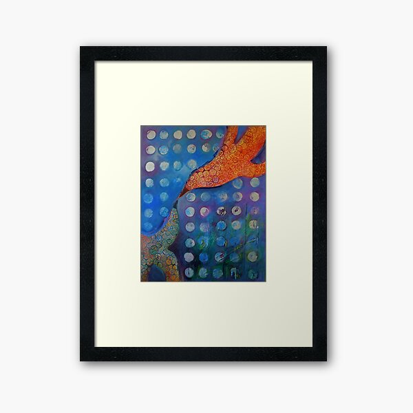 From One Bird to Another Framed Art Print