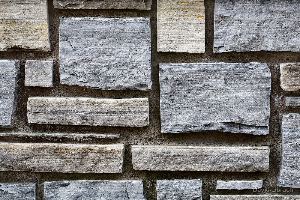 Brick Wall by David Librach - DL Photography -